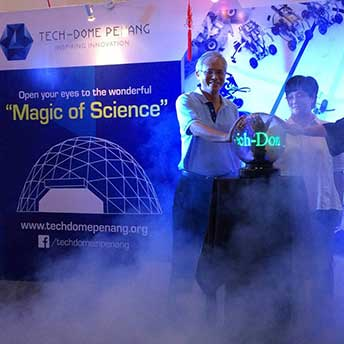 open ceremony Magic of science - tech dome penang