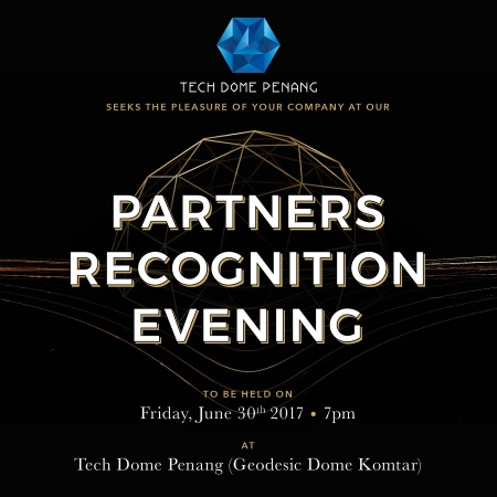 partners recognition evening - tech dome penang