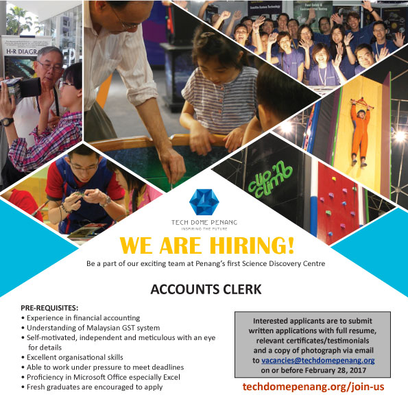 tech dome penang we are hiring join us