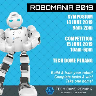 Robomania 2019 - tech dome penang